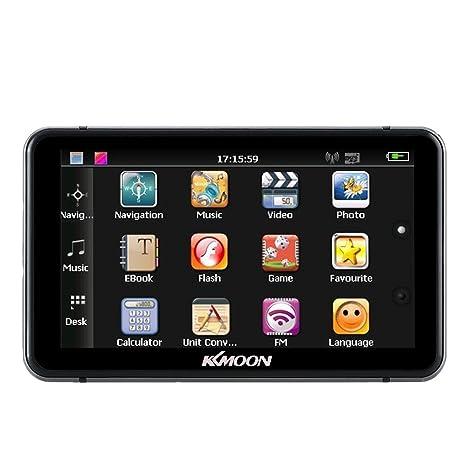 amazon com kkmoon 7 portable hd touch screen car gps navigator rh amazon com Pioneer Navigation Radio 2004 2007 GM Navigation OEM Unit