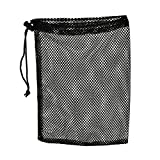 Happu-store(TM) Nylon Mesh Pouch 48 Golf Tennis Balls Carrying Holder Bag