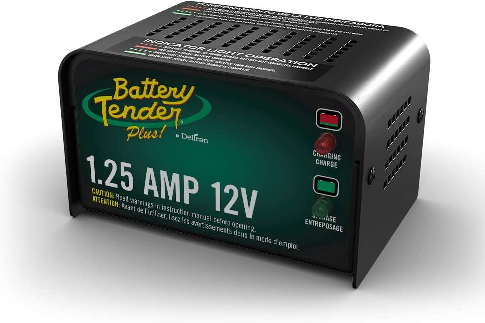 Best Car Battery Charger Battery Tender Plus 12V, 1.25A Battery Charger