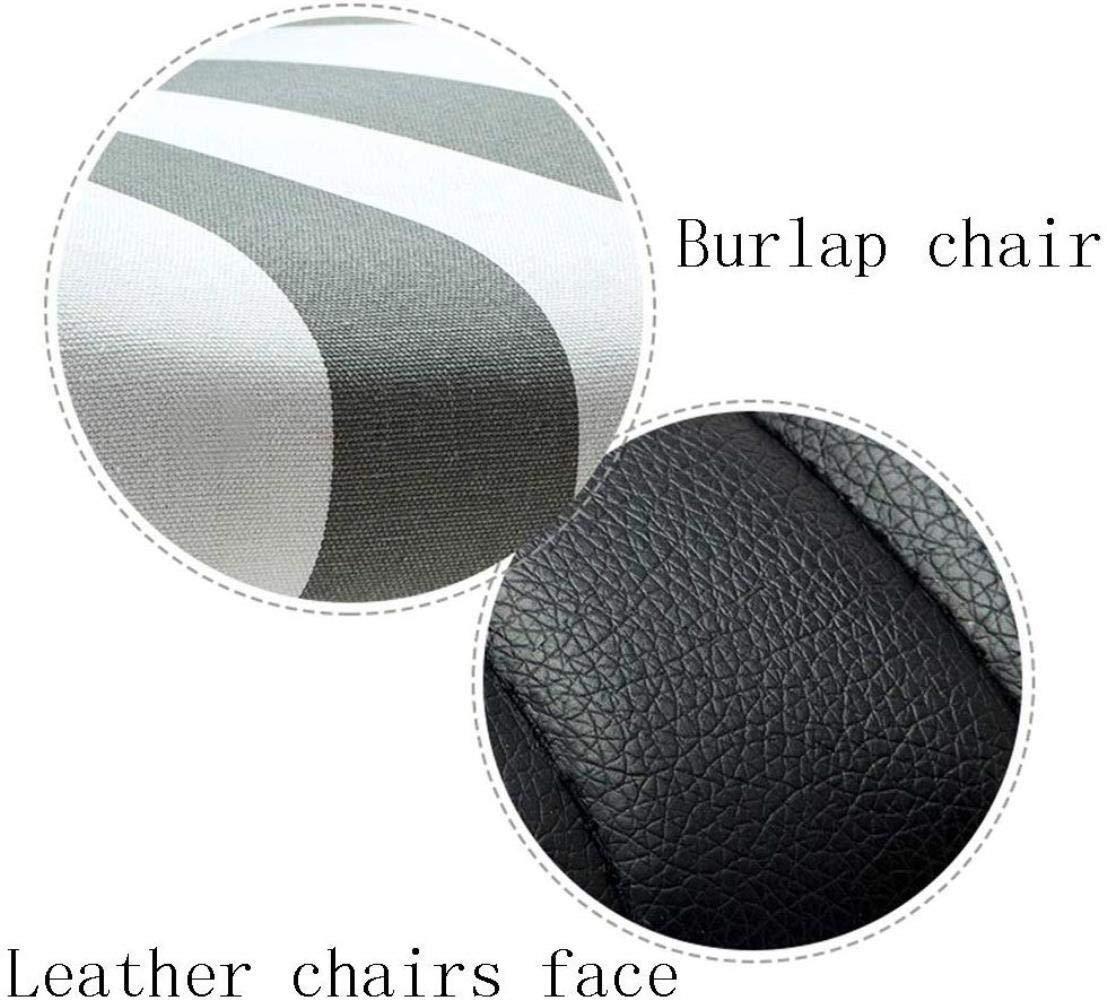 Barstolar Xiuyun kontorsstol spelstol, fritt justerbar lyft roterande lounge stol konputer stol för kontor sovrum konferensrum arbetsrum svängbar stol (färg: Stil2) stil3