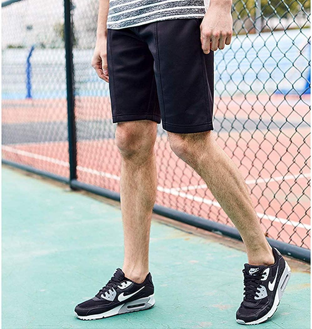 Raylans Mens Gym Shorts Elastic Waist Drawstring Summer Casual Shorts