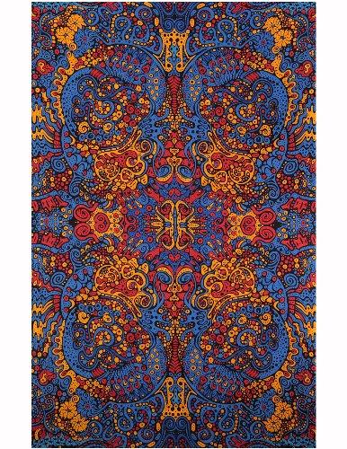 Sunshine Joy Psychedelic Tapestry Tablecloth