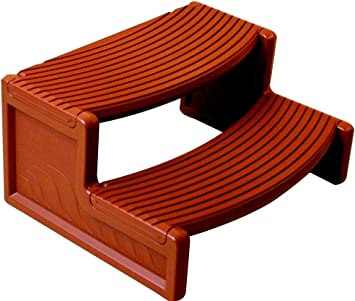 Amazon Com Skroutz Outdoor Portable Camping Step Stool Plastic Handi Step Steps Water Pool Floats Spa Hot Tub Resin Multi Purpose Redwood 300 Pounds Capacity Furniture Decor