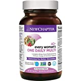 New Chapter Women's Multivitamin, Every Woman's One Daily 40+, Fermented with Probiotics + Vitamin D3 + B Vitamins…