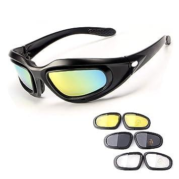 Amazon.com: Spiid Gafas militares para ciclismo al aire ...