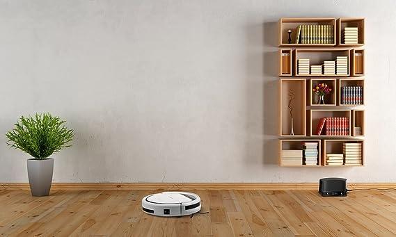 MEDION MD 16192 Bolsa para el polvo 0.3L Negro, Color blanco aspiradora robotizada - Aspiradoras robotizadas (Bolsa para el polvo, Negro, Blanco, Alrededor, ...