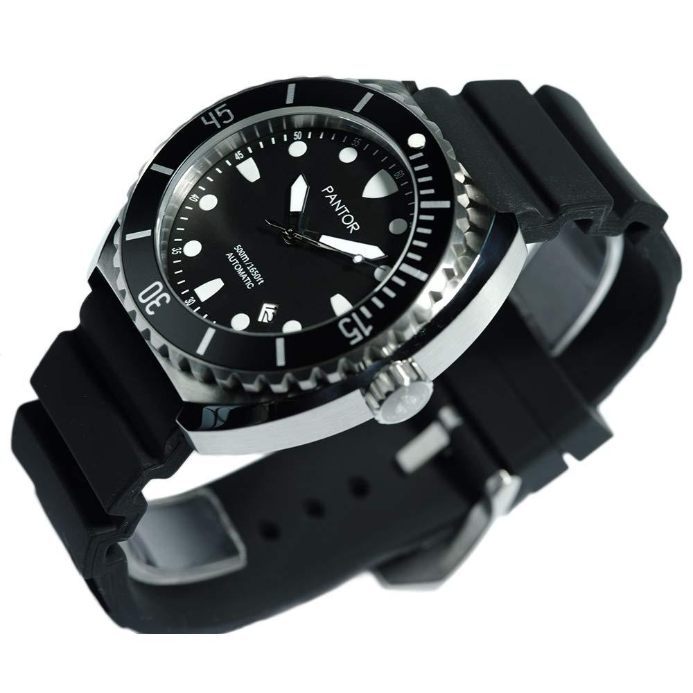 Amazon.com: Reloj de buceo automático Pantor Sea Turtle de ...