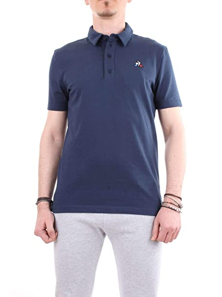 Le Coq Sportif - Polo ESS - 1910689 - Azul, M, Medium: Amazon.es ...