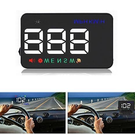 Amazon com: PolarLander Head Up Display HUD Car Speed