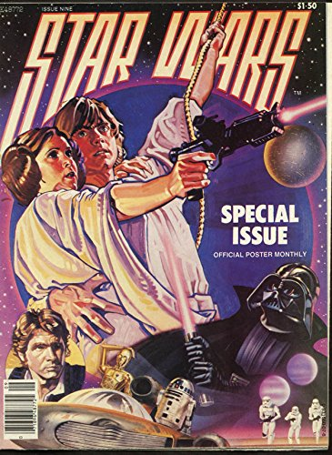 Official Poster Wars Star - Star Wars Official Poster Monthly #9 1977