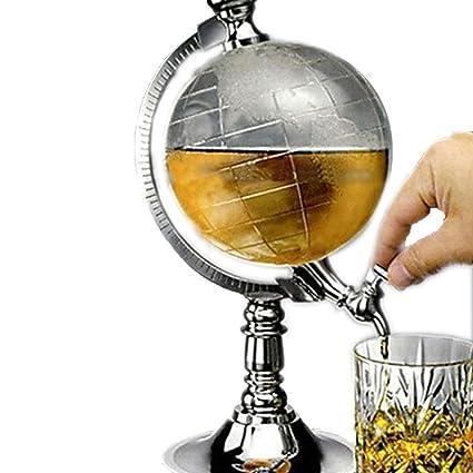 Dispensador de cerveza Ailiebhaus dispensadora de bebidas y en el diseño de globo terráqueo con diseño