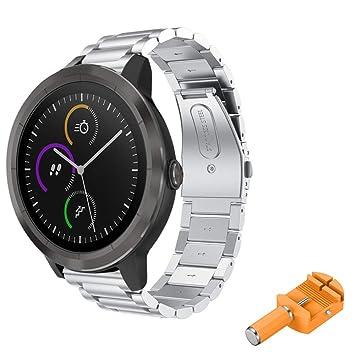 Javpoo Bandas de accesorios Compatible Garmin Vivoactive 3 ...