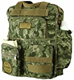 "Baby : Lillian Rose Diaper Bag, Daddy Military, 12.5"" x 16"""