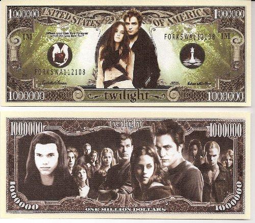 Twilight $Million Dollar$ Novelty Bill Collectible