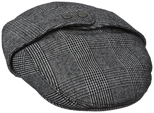 Kangol Men's Tweed Bugatti, Night Watch Plaid, Medium ()