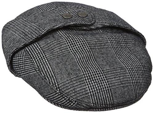 Kangol Men's Tweed Bugatti, Night Watch Plaid, Large ()