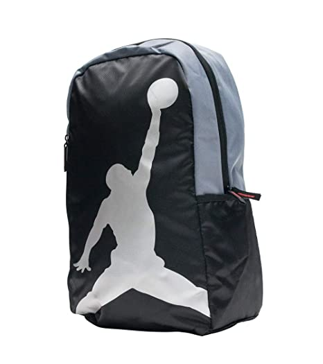 Amazon.com  Nike AIR JORDAN Backpack ISO Pack (Black Silver)  Sports ... aec55e516c
