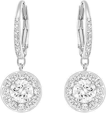 black Rutile Earrings Pave Diamond Earrings  Rutilated Quartz Earrings Antique Earrings Dangle Earrings Silver Earrings Gifts For Her