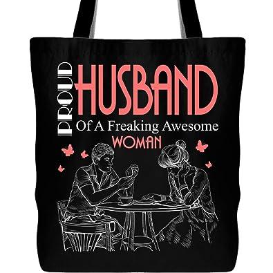 Amazon.com: Bolsa de lona para esposo con correa para el ...