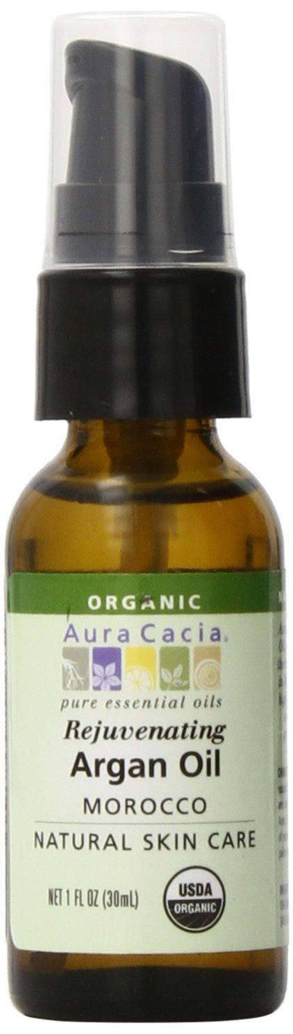 Aura Cacia Organic Skin Care Oil, Argan, 1-Fluid Ounce