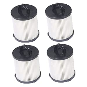 Hepa Filter for Eureka DCF-21 Vacuum Part # 67821, 68931, 68931A, EF91, EF-91, EF-91B Washable 4pcs(4)