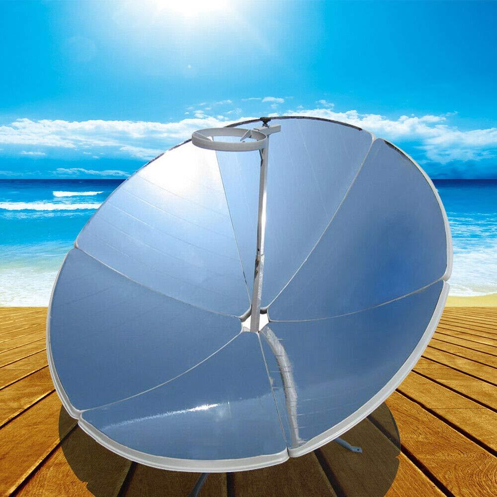 LianDu 1800W Portable Solar Cooker High Efficiency Camping Outdoor Parabolic Solar Cooker Premium Sun Oven by 1800W Parabolic Portable Solar Cooker outdoorParabolic Solar Cooker Sun Oven Outdoor