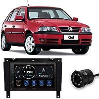 Central Multimídia Volkswagen Gol G3 1999 a 2005 Full Touch 7 Polegadas Espelhamento iOS Android USB BT + Câmera de Ré