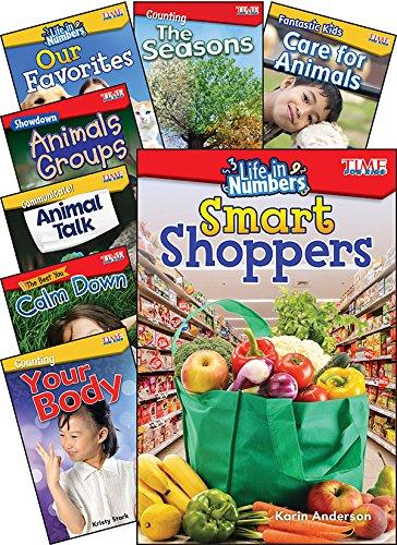 Teacher Created Materials 100715 Time for Kids Math/Science Grades K-1, 8-Book -