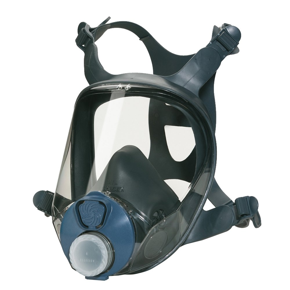 Moldex 9004 Size Small'Series 9000' Half Mask with EN 148-1 connection - Black