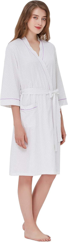 Keyocean Women Robe Cotton...