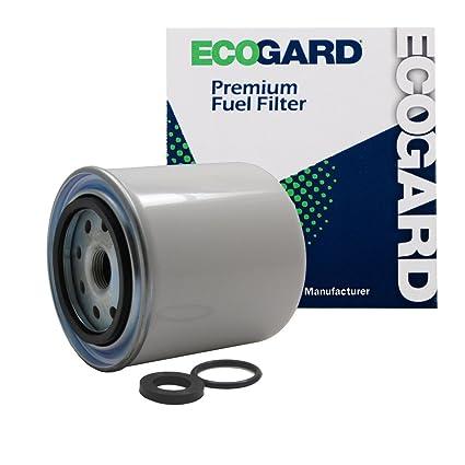 amazon com: ecogard xf55066 diesel fuel filter - premium replacement fits dodge  ram 2500, ram 3500: automotive