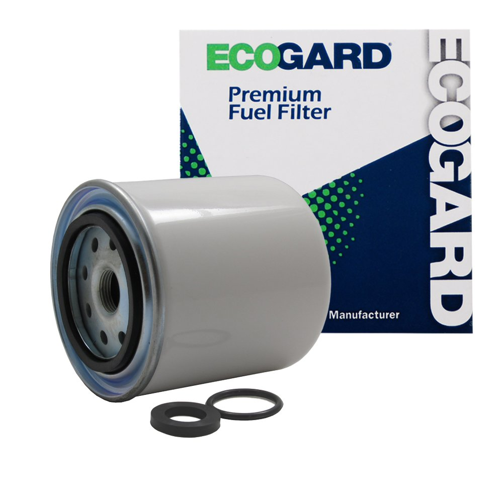 Ecogard Xf55066 Diesel Fuel Filter Premium Replacement Fits Dodge Ram 2500 3500