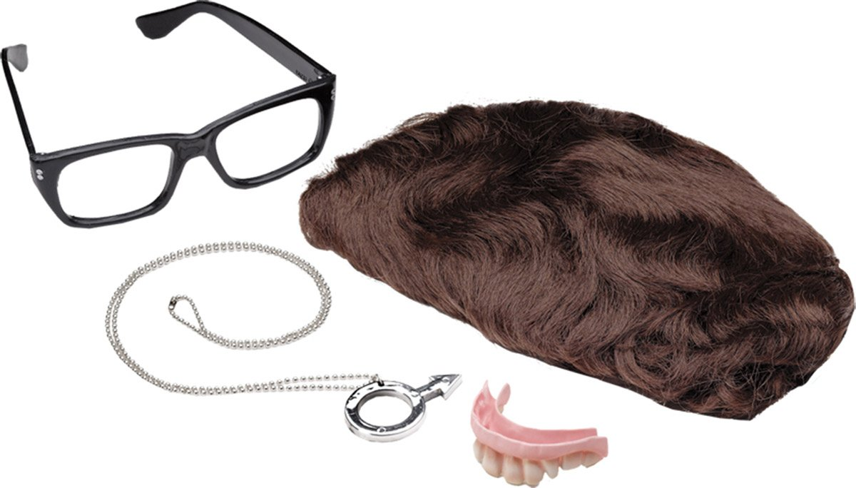 Austin Powers Deluxe Accessories Kit Costume Accessory Set