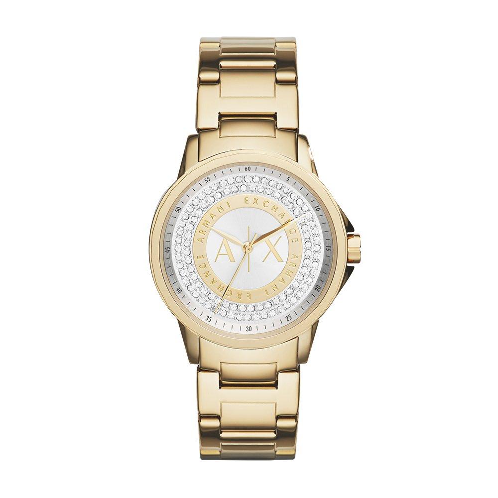 Armani Exchange Womens AX4321 Gold Watch