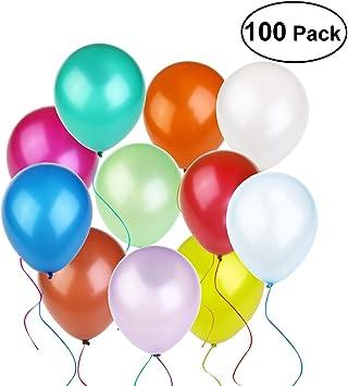 Luftballons Metallic in allen Farben 100 Ballons für jeden Anlass
