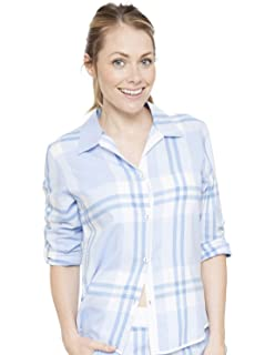 ... Sleep Shirt Nighty Nightshirt. £29.00 · Cyberjammies 4058 Women s  Amelia Blue Plaid Pyjama Top 82a0c4e1e