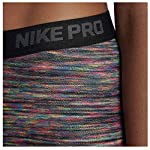 Nike Women's Pro Hyperwarm Fleece Printed Athletic Tights Leggings
