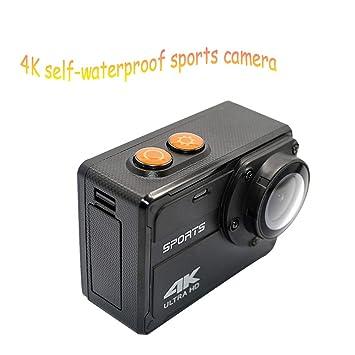 Zoiseo 4K Extremadamente Claro Cámara Deportiva, Sensor de Imagen ...