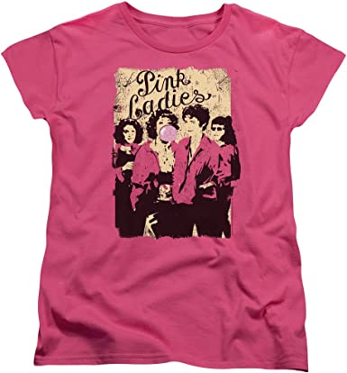 Camiseta chica mujer Pink ladies t shirt woman girl cine grease movie