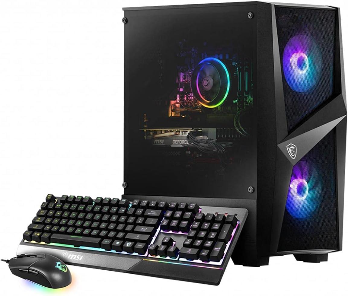 MSI Codex R 10SI-029US Tower VR-Ready Gaming Desktop Computer, Intel Core i5-10400F 2.9GHz, 16GB RAM, 240GB SSD + 1TB HDD, NVIDIA GeForce GTX 1660 Super 6GB, Windows 10 Home