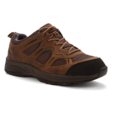 Propet Men's Connelly Sneakers, Brown Leather, ...