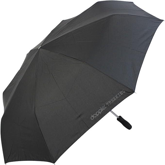 Paraguas de bolsillo para golf y senderismo, talla XXL, negro: Amazon.es: Deportes y aire libre