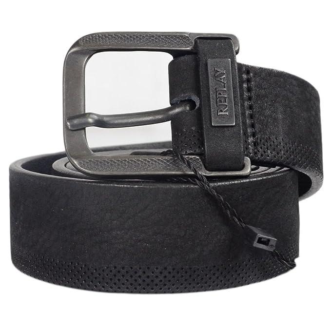 brand new c74e9 702ce REPLAY Cintura - Uomo: Amazon.it: Abbigliamento