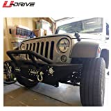 U-Drive Auto Black Textured Front Bumper-15 with