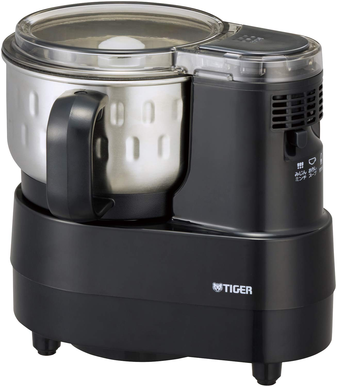 TIGER Micro Computer Food Processor SKF-H100K (BLACK)【Japan Domestic Genuine Products】【Ships from Japan】