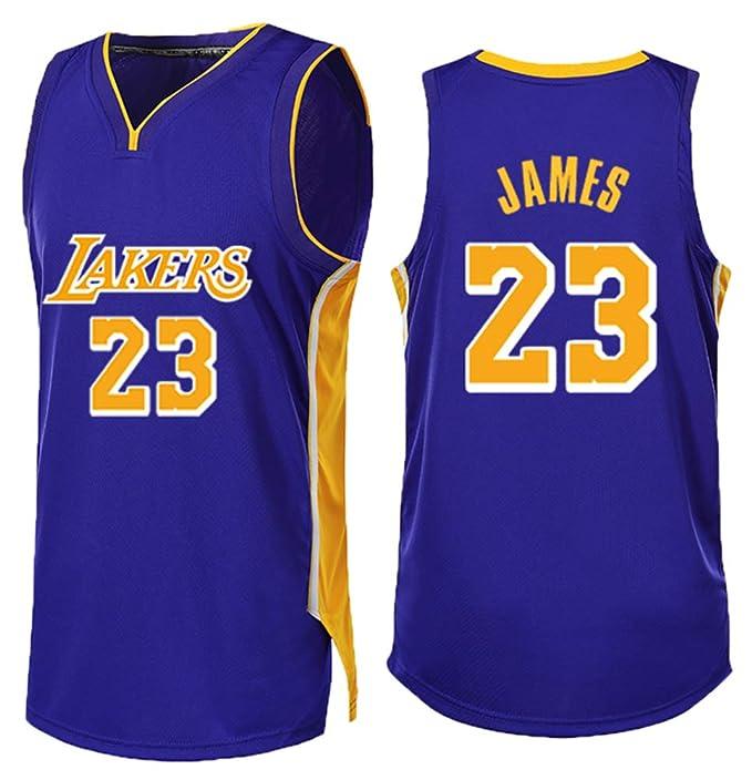 FDRYA Camiseta para Hombre NBA Lakers # 23 Lebron James Bulls ...