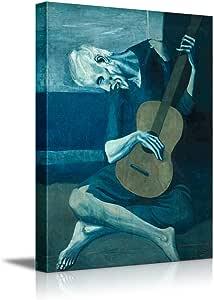 Wall26 ® – Lienzo con reproducción de El viejo guitarrista ciego ...