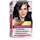 L'Oréal Paris, Coloração Imédia Excellence Extra Profunda, 2.8 Preto Poderoso