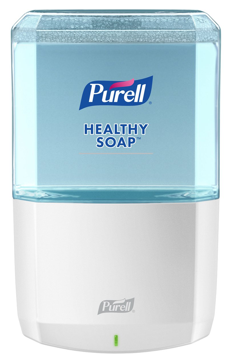 PURELL HEALTHY SOAP ES6 Dispenser, White - Dispenser for ES6 1200mL Refills - 6430-01