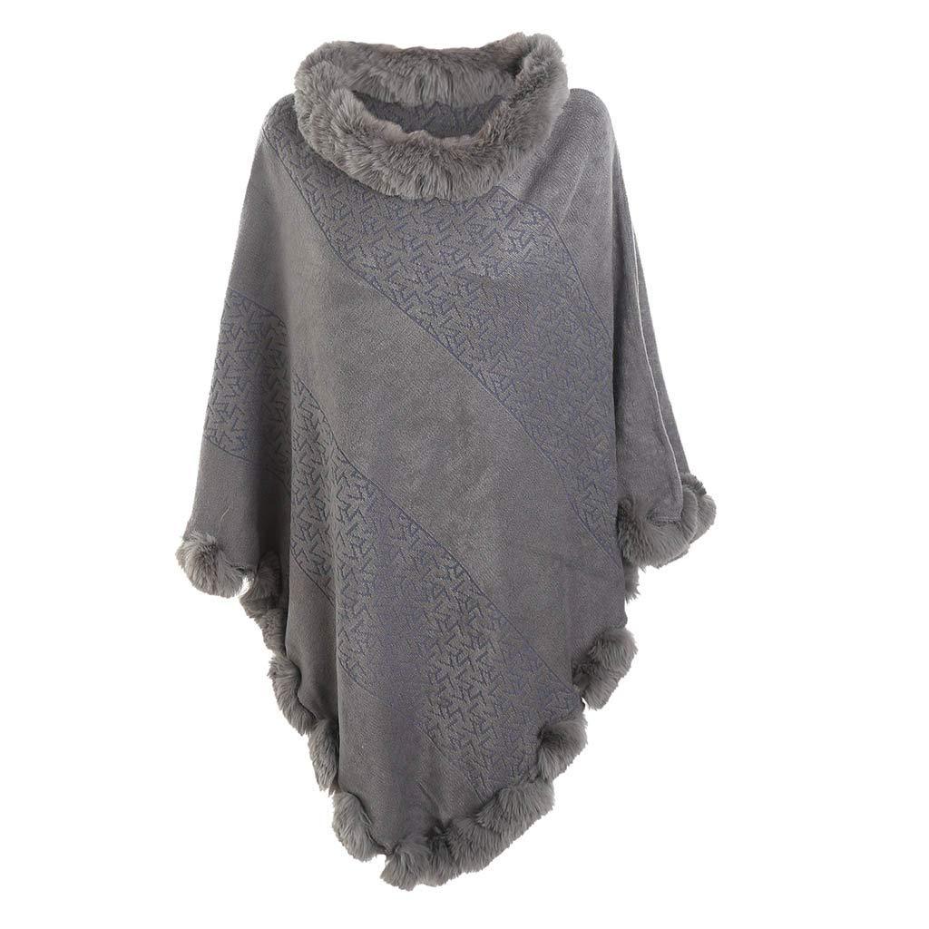❤️Jonerytime❤️ New Leopard Lace High-end Banquet Fashion Versatile Cotton and Llinen Scarf (Gray) by Jonerytime_ Outdoor&Sport